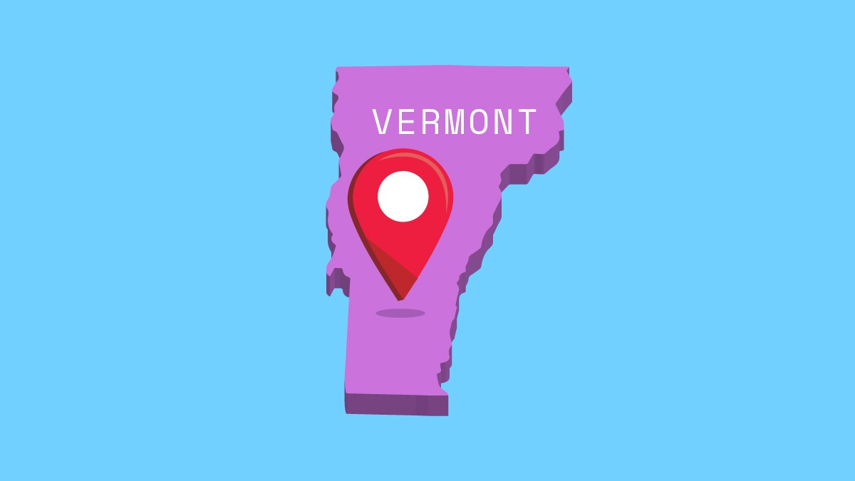 Illustration of Vermont state