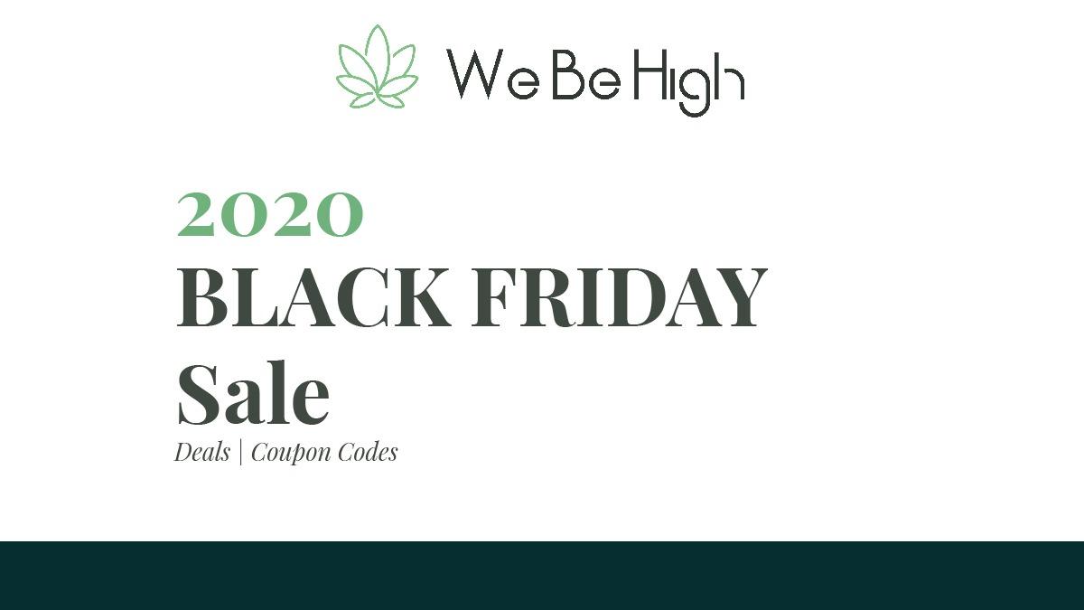 webehigh best cbd black friday banner