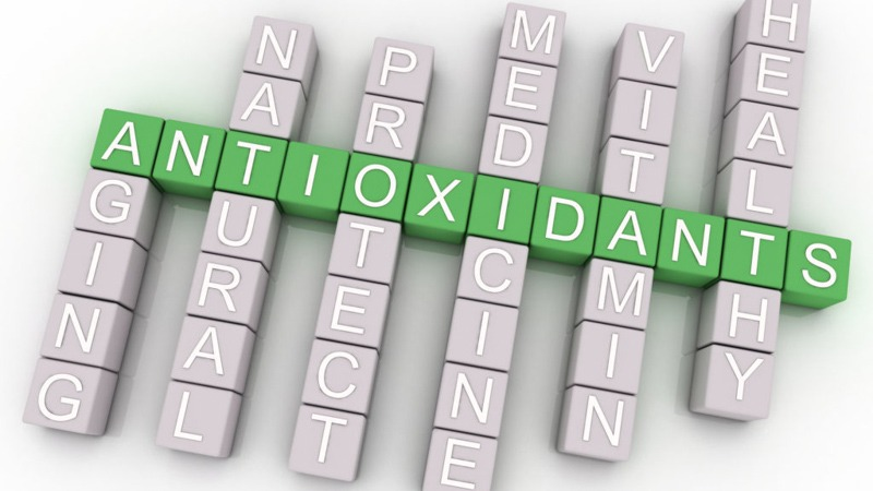 word antioxidant concept with issues