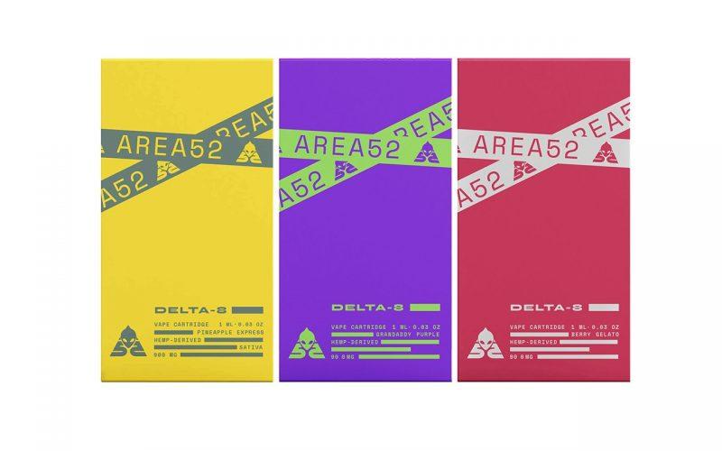 Delta 8 Vape Cartridges from Area 52