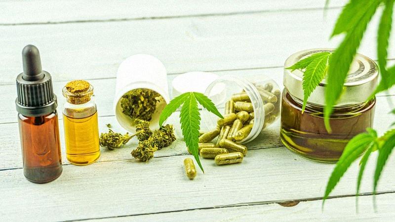 CBD tincture, oil, hemp and capsules